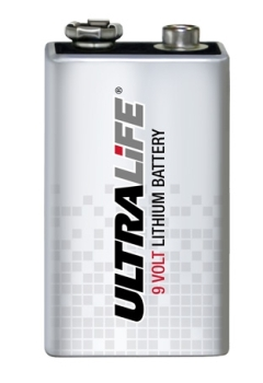 Ultralife 9V Block Lithium Batterie